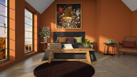 natural attic - Bedroom  - by anjaam