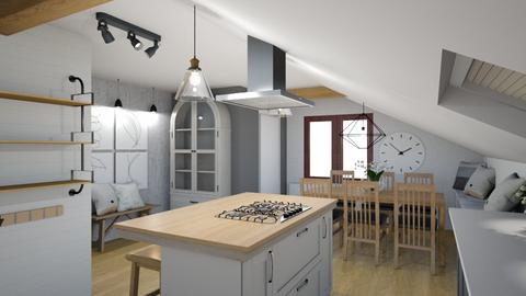Ucman_Klopcic plan1_2 - Kitchen  - by Petja1980