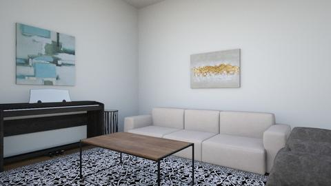 LIVING - Living room  - by Sonica06