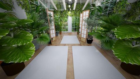meditation room - by leoleolion