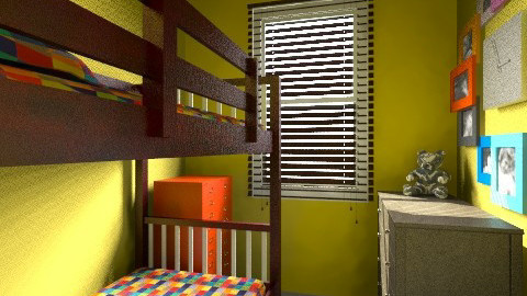 Boys small bedroom - Eclectic - Kids room  - by Rachael Macgregor