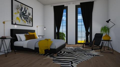 Mustard - Bedroom - by PrincessNexus21