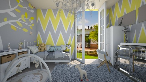 kid - Kids room  - by Lauris Osorio