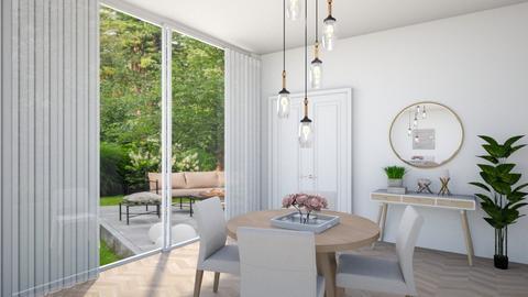 Scandinavian Dining - Dining room  - by Tzed Design