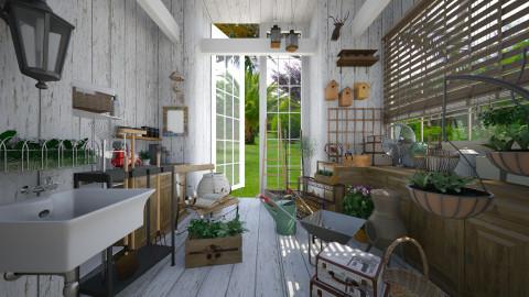 shed - Garden  - by Senia N