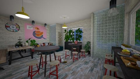Pans n Cakes House - Retro - by mmt_regina_nox