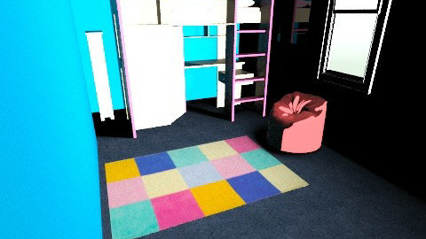 MaryAnnes Bedroom - Retro - Bedroom  - by marymad227