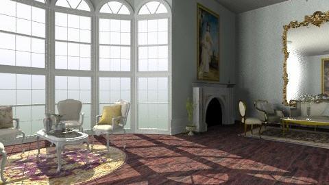Salon des Fleurs - Classic - Living room - by Ukulele