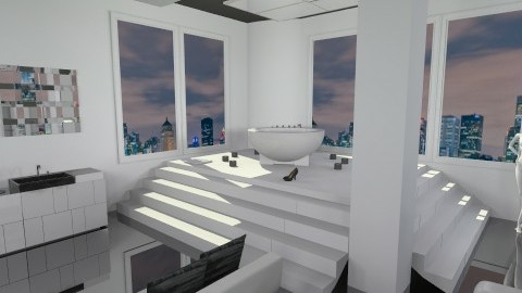 Modern Bathroom - Modern - Bathroom  - by Nemesi_