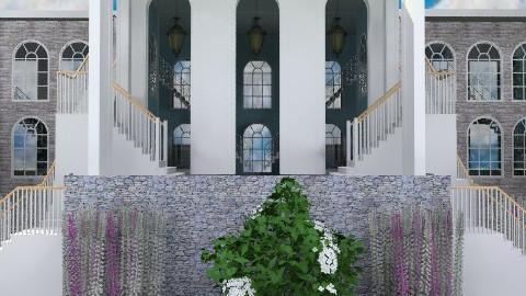 Stairs - Classic - Garden  - by Bibiche