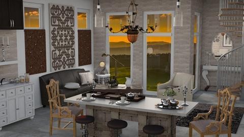 Upscale - Modern - Kitchen - by Gurns