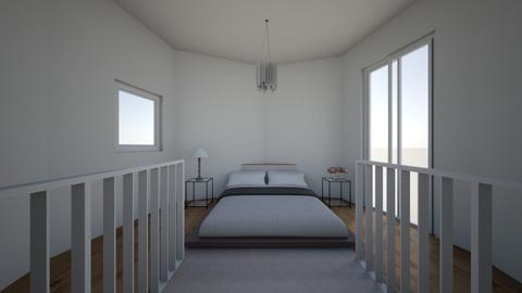 Modern bedroom - Modern - Bedroom - by RosieDraws