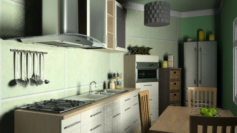 Pegli-kitchen - Country - Kitchen  - by paolafa