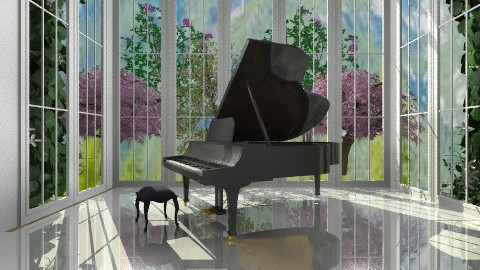 Piano room - Classic - by norli99