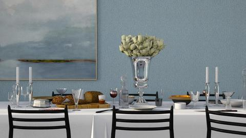 just a fine dine - Classic - Dining room  - by HenkRetro1960