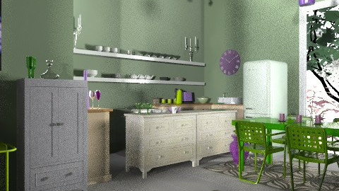 Pearl's place - Eclectic - Kitchen  - by mrschicken