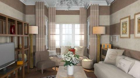 Jambo'sLivingRoom - Eclectic - Living room  - by camilla_saurus