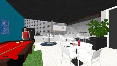 W HALL - Modern - Office  - by anarosagmz