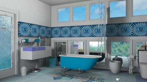 Bluba_2 - Modern - Bathroom  - by milyca8