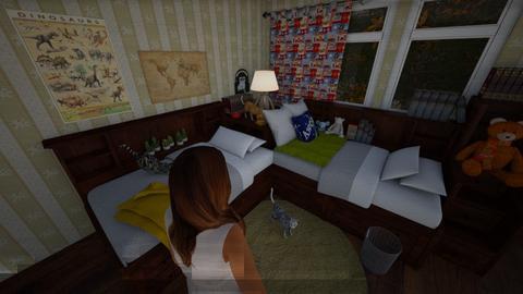 Mossypear  - Kids room  - by Brabbit SD