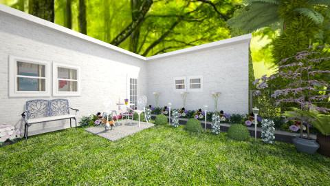 Grenny garden - Modern - Garden  - by Nina26