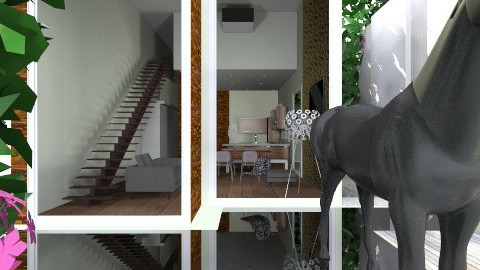 ECO ALDEA casa tuna - Glamour - Garden  - by domuseinterior
