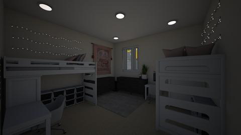 Dream Dorm Room - Bedroom - by Whitney VanManen