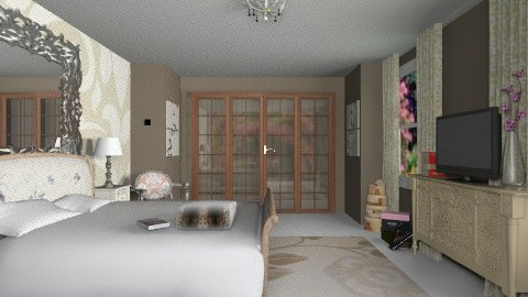Bedroom - Vintage - Bedroom - by _Lisha_