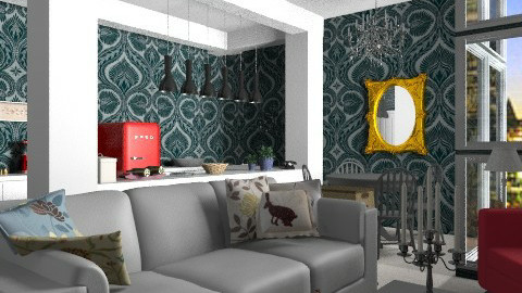 Young Aptm. - Eclectic - Living room  - by PFrate