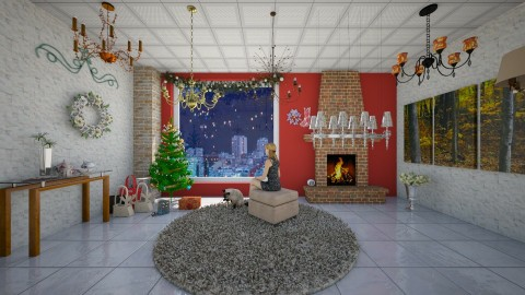 Natal - Glamour - Living room  - by Mariesse Paim
