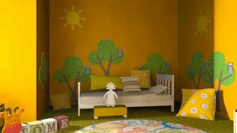 forest - Eclectic - Kids room  - by chania