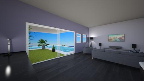 Modern living room - Modern - Living room  - by weidnerjt2