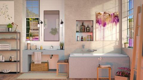 Lavender Bathroom - Eclectic - Bathroom  - by Sally Simpson