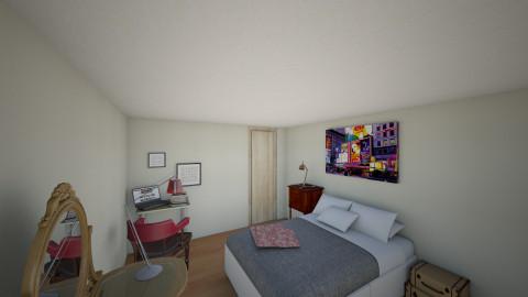 dpto mavi - Vintage - Bedroom  - by Mavi Tarascio