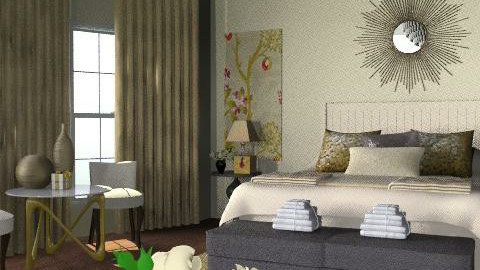 LuxeHotel - Glamour - Bedroom  - by camilla_saurus