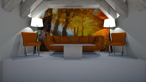 Autumn Chill - Modern - Living room  - by riordan simpson
