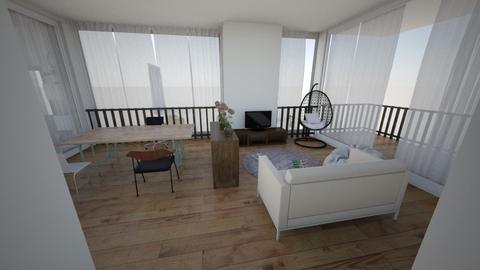 room 3 study edit - Modern - Bedroom  - by celion