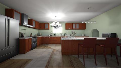 kitchen - Rustic - Kitchen  - by elladesign