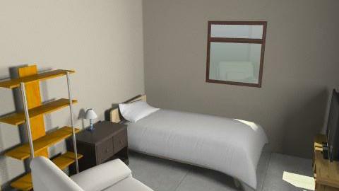 Jroom - Minimal - Bedroom - by PUMPI78