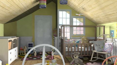 The baby's room - Kids room  - by Laurika