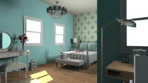 Bedroom 1 - Vintage - Bedroom  - by fazfarah