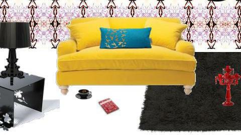Sheer decadence - Living room - by DearDesigner
