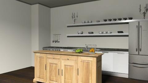 Loft - Kitchen - Eclectic - Kitchen  - by alidoele