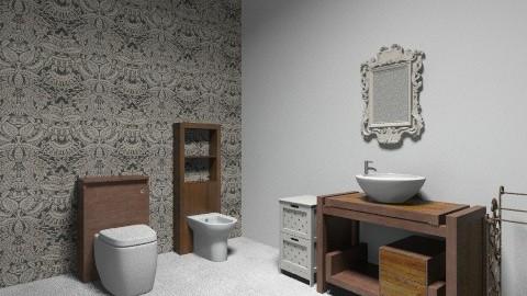 WC Quartos Hotel - Classic - Bathroom  - by Mariana Cardoso