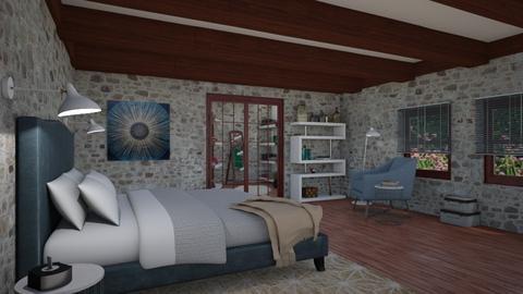 Bed Eclectic - Bedroom - by JM Krab