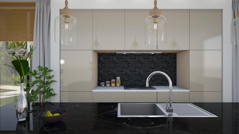 Misty Magnolia - Minimal - Kitchen  - by Claudia Correia