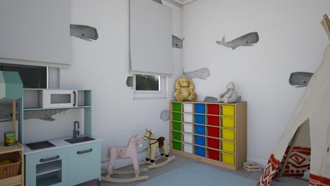sam  - Kids room  - by zozan