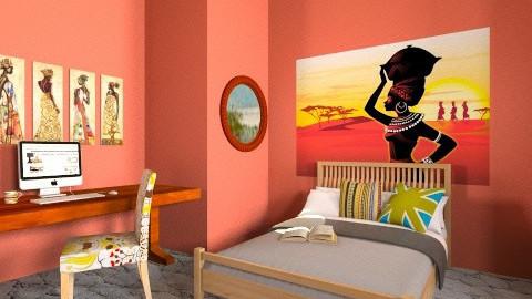 Shanna Room - Global - Bedroom - by Aden Thompson