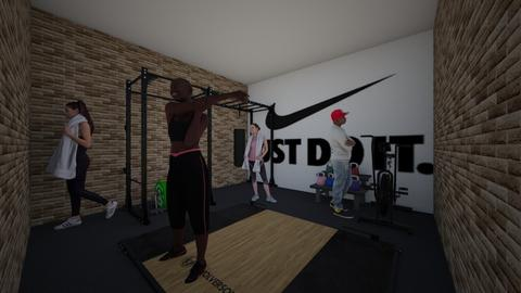 small nike gym - Masculine - by bumbleB33