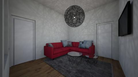red - Living room  - by ChiRie